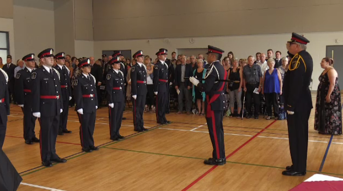 Waterloo Regional Police welcome new members to its ranks.