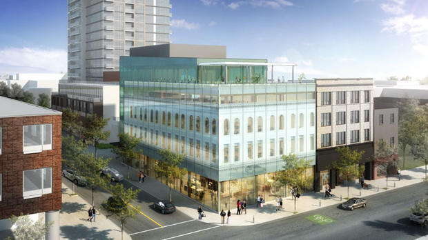 The city of Kitchener has released plans for the development at One Young Street in the downtown. (Image Source: City of Kitchener)