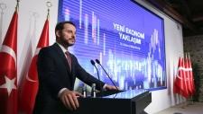 Turkey's Treasury and Finance Minister Berat Albay