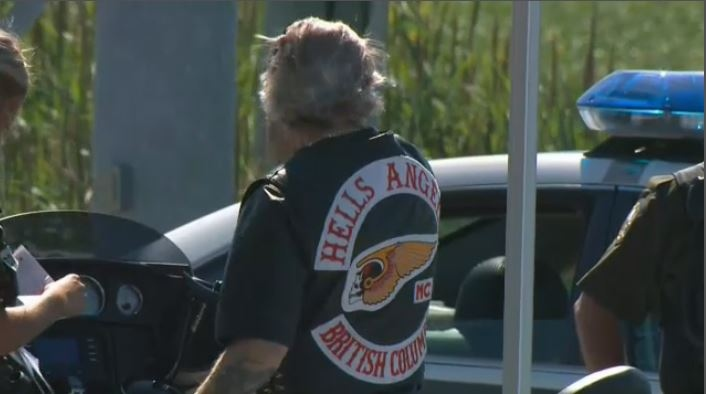 "Bikers from across the country come out to participate in the Hells Angels' annual ""Canada Run."" This year, it kicks off in Saint-Charles-de-Richelieu, Quebec - where the SQ says the Hells Angels have considerable influence over the drug trade. (CTV Montreal)"