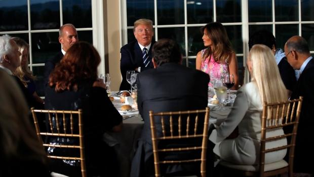 Trump and Melania Bedminster