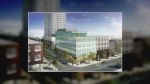 New design plans have been announced to revitalize the One Young Street building.