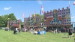 Riverside Park in Cambridge is serving up some tasty meat this weekend for the annual Ribfest.