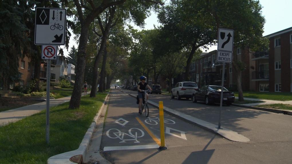 bike lane edmonton