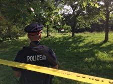 Body found in ravine