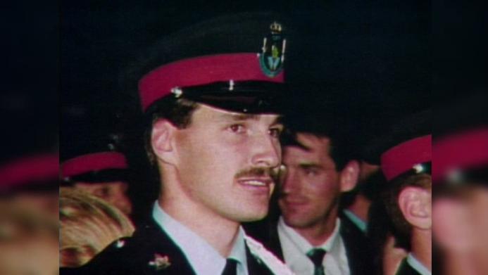 A photo of Cst. David Nicholson