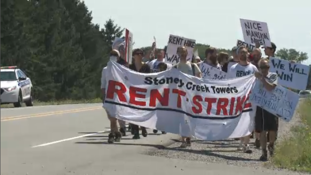 Stoney creek residents protest