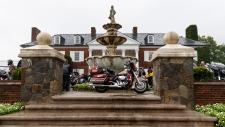 Motorcycles at Trump National Golf Club
