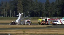 A plane crashed at an airshow