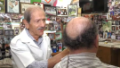 Done Katsorov, also known as Danny the Barber, has been cutting hair for six decades.