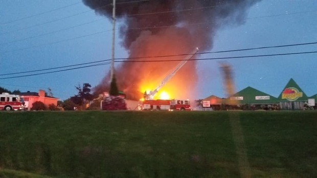 Landtech Inc., fire in Clarence-Rockland