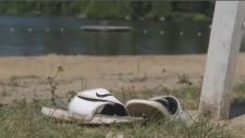 Drowning Pontbriand lake