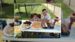 A group of children in one Waterloo neighbourhood sold refreshments to raise funds for cancer research.