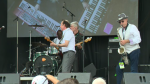 The Kitchener Blues Festival wrapped up on Sunday with performances by a number of artists.