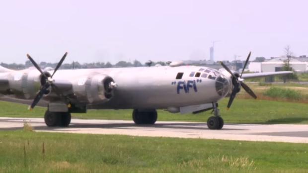 Warplane Visit