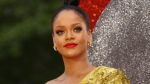 """Singer and actress Rihanna arrives at the premiere of """"Ocean's 8"""" in central London, June 13, 2018. (Photo by Joel C Ryan/Invision/AP, File)"""