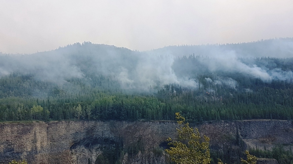 The British Columbia government has declared a state of emergency due to the ongoing wildfire situation in the province. (BC Wildfire Service/Facebook)
