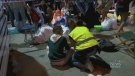 Spain collapse: more than 300 injured