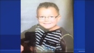 Zachary Bourgon, 7, was last seen at 11:55 p.m. on Monday, near 201st Street in Shawinigan. (CTV Montreal)