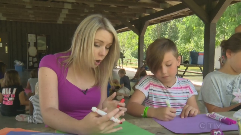 Day-camper for a day: summer camp activities