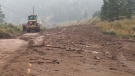 Mudslides hit Highway 1, Highway 97 and Highway 99 in the B.C. Interior over the weekend. (Twitter/BC Transportation)