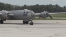 Fans gush over antique aircraft