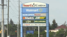 Sudbury's Smart Centre Plaza