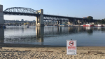 If too much E.coli is found in the water samples taken from a swimming spot, health officials close the beach to protect peoples' health, like they've done at Sunset Beach in Vancouver.