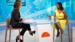 This image released by NBC Today shows reality TV personality and former White House staffer Omarosa Manigault Newman during an interview with co-host Savanah Guthrie on the 'Today' show on Monday, Aug. 13, 2018, in New York. (Zach Pagano/NBC via AP)