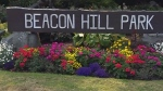 Many roads in Beacon Hill Park were closed to vehicle traffic this spring to allow for more physical distancing among pedestrians, according to the city.