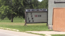 Some residents in Innerkip have placed signs on their property reminding drivers to slow down.