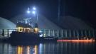 Fuel spill concerns after tug boat sinks in Fraser