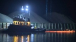 The George H. Ledcor, a barge-hauling tug operated by the Ledcor Group, went down Monday night between Vancouver and Richmond.