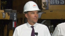 Morneau makes an announcement in Hamilton, Ont.