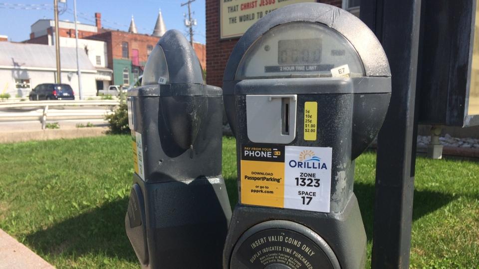 orillia parking