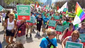 Rally against Ont. sex ed repeal