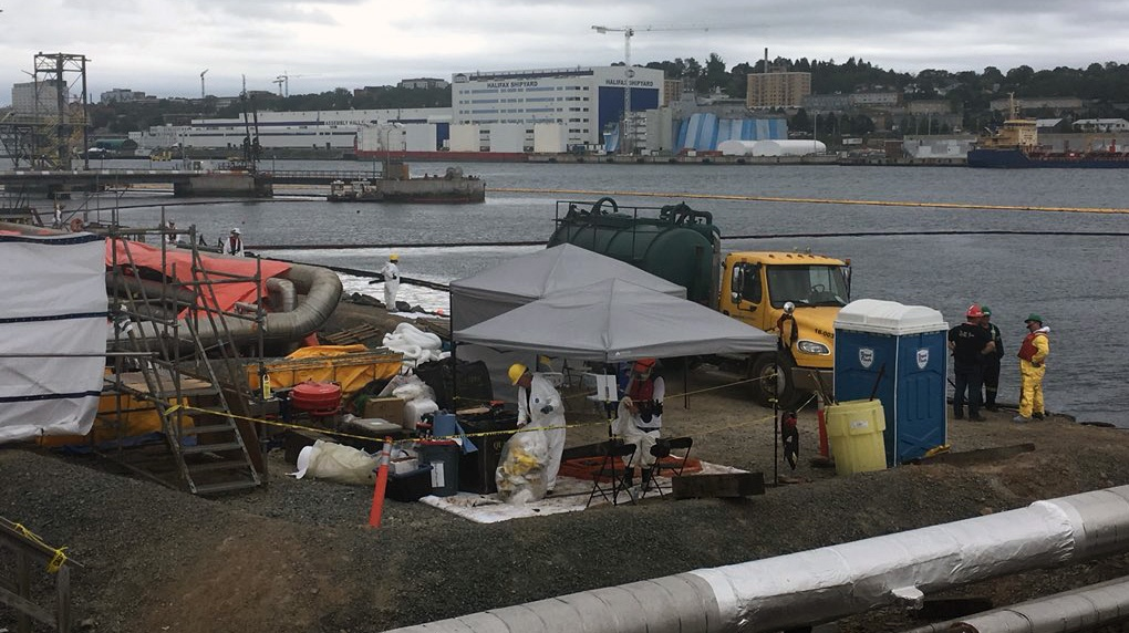 Halifax oil leak