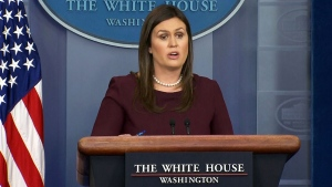 White House press briefing with Sarah Sanders