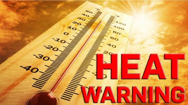 Heat wave effecting Northern Ontario