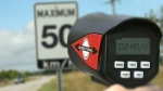 OPP radar clocks Vaughan, Ont. woman speeding 102km/hr in a posted 50km/hr zone in Wasaga Beach, Ont. (CTV News/Steve Wishart)