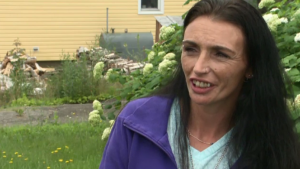 Melissa Robichaud is the widow of Donnie Robichaud, who was one of four people killed in Fredericton. (CTV Atlantic)
