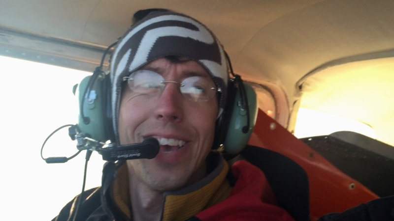 Rob Dunham identified the missing plane pilot as Scott Schneider. (Supplied)
