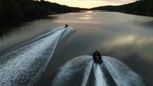 Adventurous duo rounds Cape Breton on Sea-doos