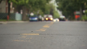 CTV Montreal: New road lines in NDG