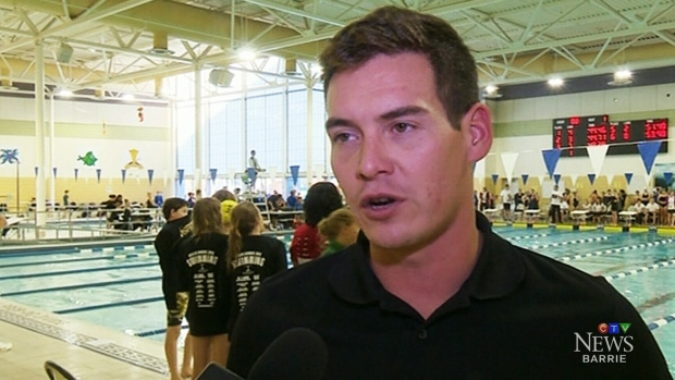 Former swim coach in court