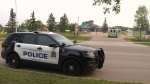 Police are looking for the male that shot a woman with a pellet gun in southeast Edmonton on Tuesday, August 14, 2018.