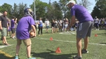 Laurier football hosts Lighthouse group