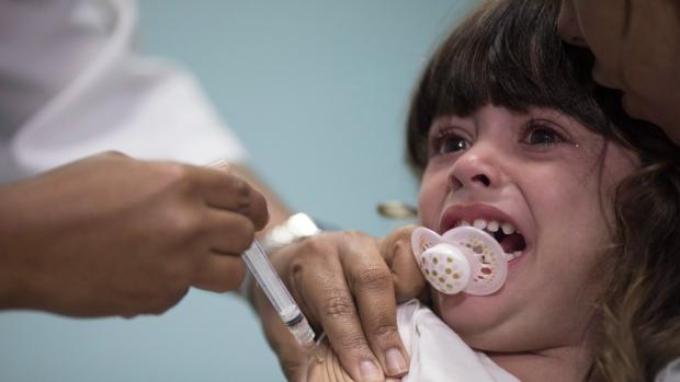 Vaccine against measles in Rio de Janeiro, Brazil