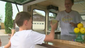 Lemonade stand raises money for Cystic Fibrosis