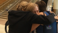Three sisters separated for decades meet